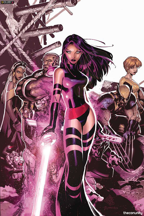 Psylocke Telekinetic powers