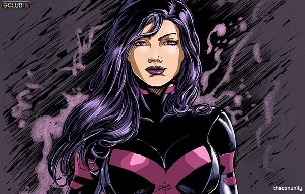 Psylocke Fighting skills