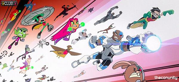 Teen Titans Go vs Teen Titans