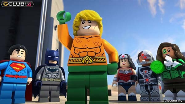Lego DC Aquaman Rage of Atlantis