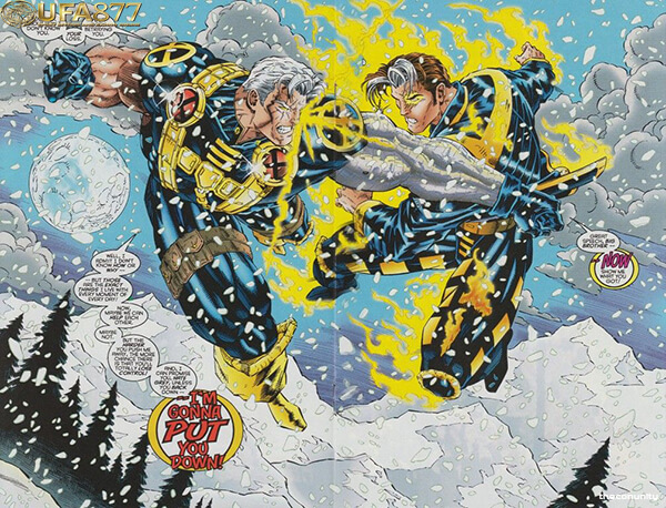 Nate Grey and Cable